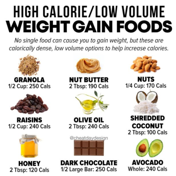 Gain Weight With Processed Foods