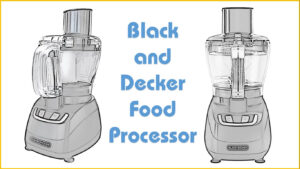 The Black and Decker Food Processor