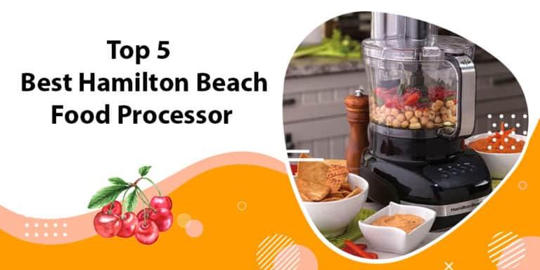 best Hamilton Beach food processor