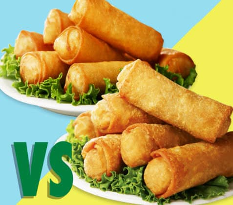 Difference Between Spring Rolls and Egg Rolls