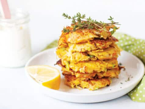 Hash Brown Carrot Cakes