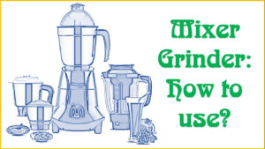 How To Use a Grinder Mixer