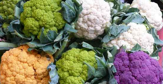 What are other names for cauliflower