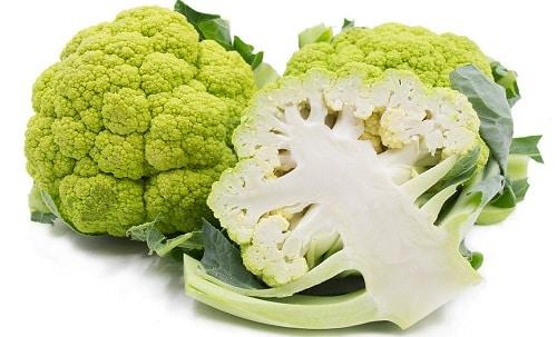 What is green cauliflower